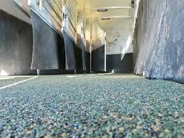 floor classy ideas polylast flooring horse trailer wash rack cost canada in texas diy ingenious idea