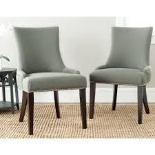 lester granite linen dining chair set of 2
