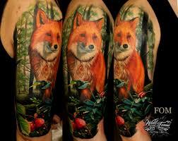 значение тату лиса у девушек фото татуировки лиса на руке ноге плече
