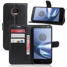moto force z case. book style wallet leather case for motorola moto z force / droid c