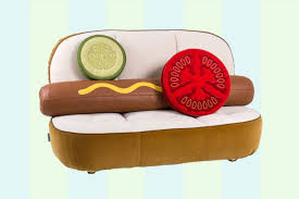 Neiman <b>Marcus Hot</b> Dog Couch, Hamburger Chair: How to Order ...