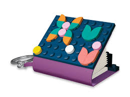 Key Chain with Mini Notebook 5006288 | DOTS | Buy online at the Official  LEGO® Shop US