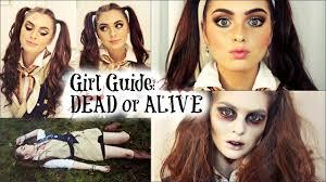 cute zombie makeup emo diy costume ghost makeup