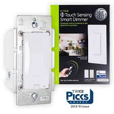 ge z wave plus in wall touch sensing smart dimmer