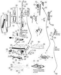 oreck u3700hh vacuum parts Oreck Vacuum Parts Oreck Xl Motor Wiring Diagram #36