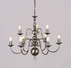 special offer 00350 6 3 flemish 9 light pewter chandelier ceiling light