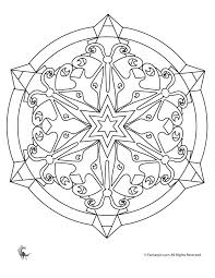 Small Picture Summer Mandala Coloring Pages Butterfly Kaleidoscope Coloring Page