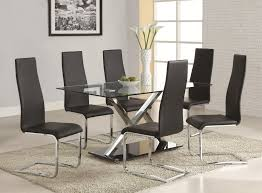 dining room white modern room z shaped chairs double bar stretcher tables faux leather upholstered