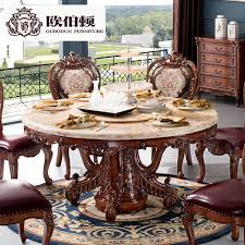 get ations burton europe european natural marble dining table round dining table and dining table and six chairs