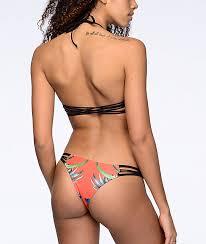 Damsel Tropical Escape Orange Super Cheeky Bikini Bottom