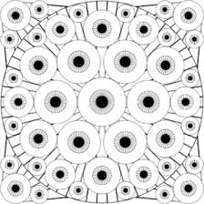 Small Picture Adult Eye Coloring Pages Eye Spy Coloring Pages Hawk Eye Coloring