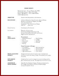 Simple High School Resume Examples High School Job Resume Template Summer Job Resume Template