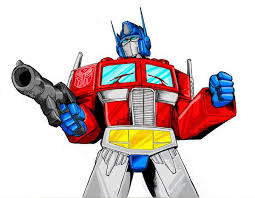 Small Picture Optimus Prime line art COLOR by Optimus8404 on DeviantArt