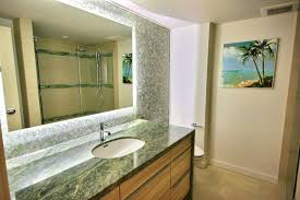 frameless bathroom vanity mirror. Bathroom Frameless Mirror Led Lighting Vanity With Above Single Sink And Small Painting Clips