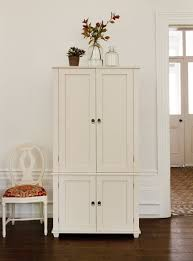 office armoire. #thedormyhouse New England Home Office Armoire - The Dormy House