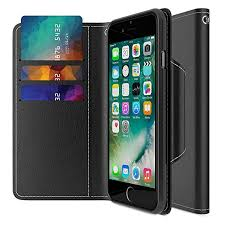 iphone 7 wallet case maxboost folio style premium iphone 7 card cases stand