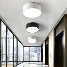 office ceiling lamps. 2017 Balcony Mini Led Light Nordic Style Black \u0026 White Porch Lamp Home  Office Round Small Ceiling Lamps