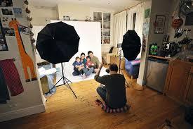 full image for home photo studios shoot pro quality portraits basic studio kit photography lighting for