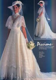 Vintage wedding dresses ideas 2018 La Sposa From Modern Bride Dec 1982 Jan 1983 Pinterest 99 Lovely Vintage Wedding Dress Ideas Baseballbiloxicom