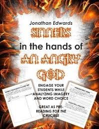 sinners in the hands of an angry god teaching resources teachers   sinners in the hands of an angry god mini bundle pre reading for ·