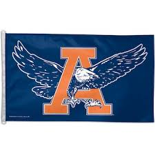 >auburn university wall art tigers prints the official store of  wincraft auburn tigers single sided 3 x 5 deluxe eagle flag