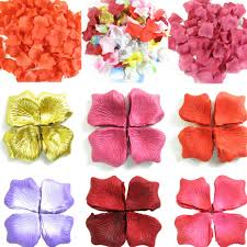 <b>120Pcs</b>/<b>pack Lovely</b> Artificial Silk Rose <b>Petals</b> Wedding Favor Party ...