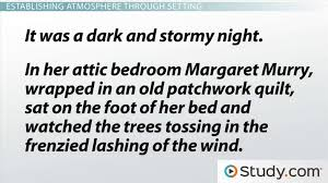 Atmosphere In Literature Definition Examples