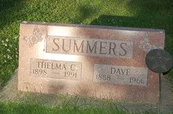 Dave Summers (1888-1966) - Find A Grave Memorial