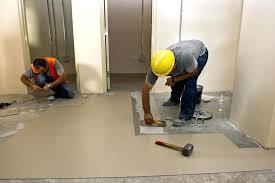 how to remove vinyl floor adhesive from concrete removing vinyl flooring