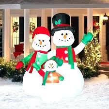 yard snowman outdoor decorations festive ideas for the area Yard Snowman Outdoor Decorations