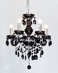 henley black crystal 5 lamp chandelier be fabulous within prepare 10