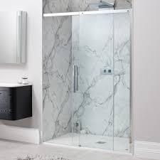 simpsons ten sliding shower door optional side panels