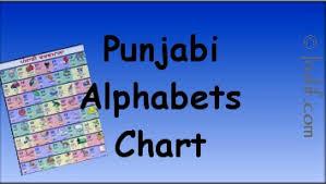 Punjabi Chart Punjabi Alphabets Gurukhi Script Vowels And Consonants