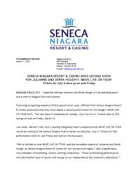 seneca niagara resort adds second show for julie and derek hough s move live on tour by seneca s issuu