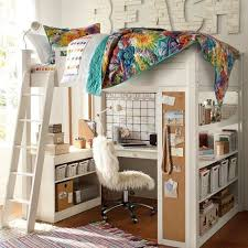 Best 10 Desk Under Bed Ideas On Pinterest Toddler Bedroom Ideas within Loft  Bed With Desk And Stairs For Teenagers