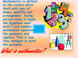 applications of mathematics in our daily life mathematics