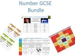 number tasks gcse bundle