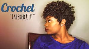 Short Crochet Hair Style easy crochet tapered cut feat curlkalon hair youtube 6861 by wearticles.com