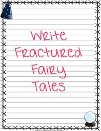 fairy tale writing papers by sunnydaze teachers pay teachers  fairy tale writing papers