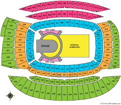 Seating Chart Soldier Field Kenny Chesney Soldier Field Stadium Seating Chart