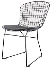 bertoia wire chair. Angled View Of The Harry Bertoia Wire Chair