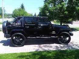 Jeep Wrangler 4 Door Black - image #94