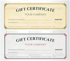 Gift Certificate Maker Free Gorgeous Sample Certificate For Free Gift 48 Business Gift Certificate