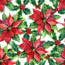 Poinsettia Pattern Cool Design