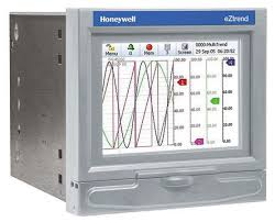 Honeywell 43 Tv 03 18 12 Channel Graphic Recorder Measures Current Resistance Temperature Voltage