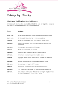 Wedding Schedule Template Sample Wedding Reception Schedule Reception Decoration Ideas 24 23