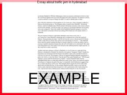 essay about traffic jam in hyderabad research paper writing service essay about traffic jam in hyderabad hyderabad heavy rain triggers traffic jams roads