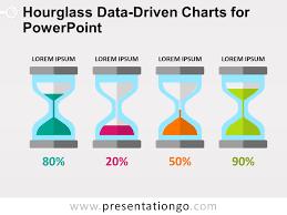 Hourglass Charts For Powerpoint Presentationgo Com