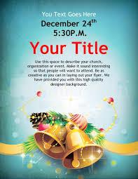 Christmas Flyer Templates Christmas Bells Flyer Template Template Flyer Templates