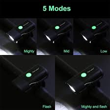 <b>WEST BIKING</b> Bike Front Light USB Rechargeable Bicycle ...